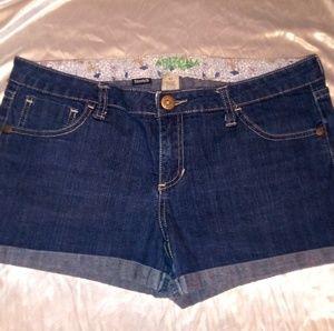 Arizona Low Rise Denim Shorts size13